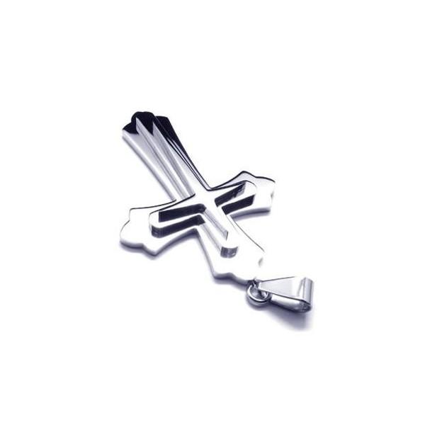Jewelry , 7 Good Mens Crucifix Necklace : Cross Titanium Pendants