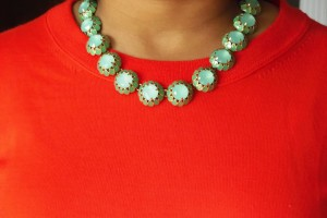 Jewelry , 7 Hottest J Crew Bauble Necklace : Crystal Cupcake Necklace