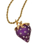 Crystal Strawberry Necklace , 8 Wonderful Kenneth Jay Lane Strawberry Necklace In Jewelry Category