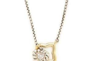 Jewelry , 8 Awesome David Yurman Lariat Necklace : David Yurman Gold Quatrefoil