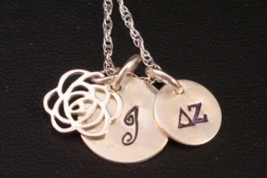 570x535px 8 Good Delta Zeta Necklace Picture in Jewelry