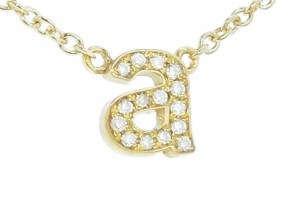 Jewelry , 9 Good Jennifer Meyer Initial Necklace : Diamond Initial Necklace
