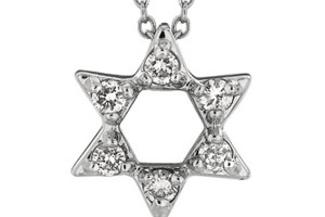 Jewelry , 8 Popular Diamond Jewish Star Necklace : Diamond Jewish Star