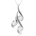 Diamond Pendant , 8 Charming Sirena Diamond Necklace In Jewelry Category