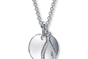 900x900px 8 Stunning Diamond Wishbone Necklace Picture in Jewelry