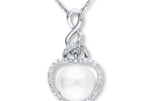 Jewelry , 8 Stunning Kay Jewelers Pearl Necklace : Diamonds Sterling Silver