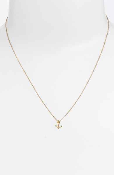 6 Top Dogeared Anchor Necklace in Jewelry