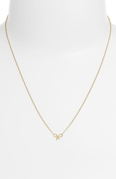 6 Fabulous Dogeared Bow Necklace in Jewelry