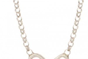 Jewelry , 6 Fabulous Dogeared Bow Necklace : Dogeared Tied and True Bow Necklace in Silver