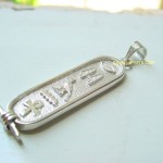 Egyptian Hieroglyphics Jewelry , 8 Georgeous Hieroglyphic Necklace Personalized In Jewelry Category