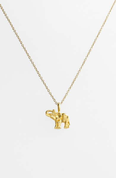 8 Good Dogeared Elephant Necklace in Jewelry