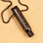 Etched bullet pendant , 8 Georgeous Hieroglyphic Necklace Personalized In Jewelry Category