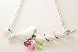 570x570px 9 Fabulous Grandchildren Birthstone Necklace Picture in Jewelry