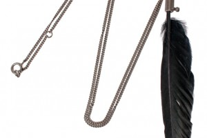 Jewelry , 7 Awesome Ann Demeulemeester Feather Necklace : Feather Necklaces