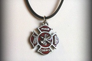 Jewelry , 7 Fabulous Firefighter Maltese Cross Necklace : Firefighter Maltese Cross Necklace
