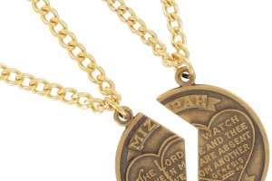 Jewelry , 7 Beautiful Mizpah Necklace : Genesis Pendant