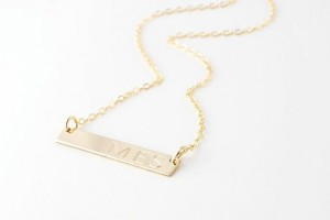 Jewelry , 8 Charming Nameplate Necklace Etsy : Gold Bar nameplate necklace