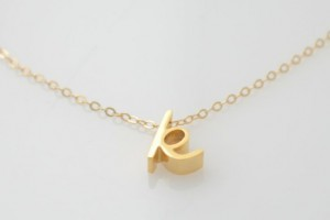 Jewelry , 8 Gorgeous Cursive Love Necklace : Gold Cursive Initial Necklace