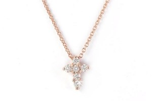 Jewelry , 7 Top Roberto Coin Diamond Cross Necklace : Gold Diamond Cross Pendant