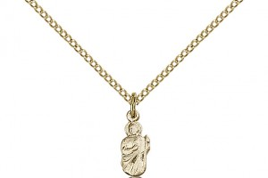 Jewelry , 7 Gorgeous Saint Jude Necklace : Gold Filled St. Jude Pendant