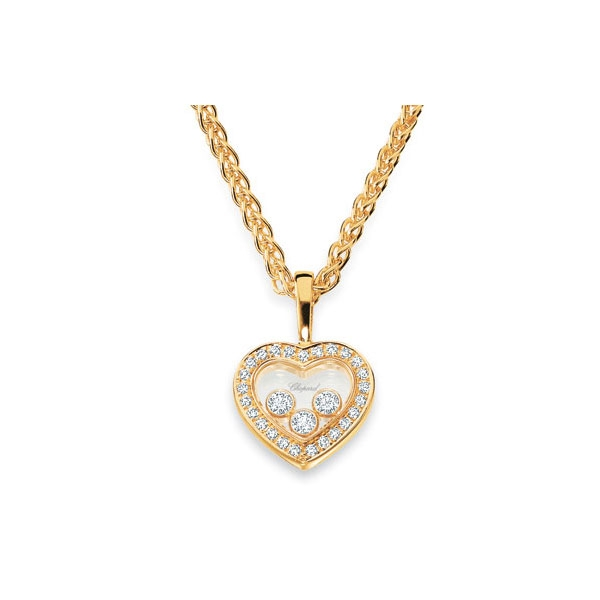 8 Stunning Chopard Happy Diamonds Necklace in Jewelry