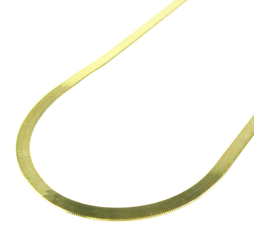 Jewelry , 8 Popular 10k Gold Herringbone Necklace : Gold Herringbone Chain