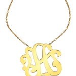 Gold Swirly Initial Pendant Necklace , 6 Charming Swirly Initial Necklace In Jewelry Category