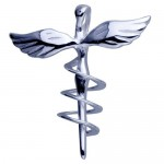 Gold Veterinary Caduceus Pendant , 8 Fabulous Veterinary Caduceus Necklace In Jewelry Category