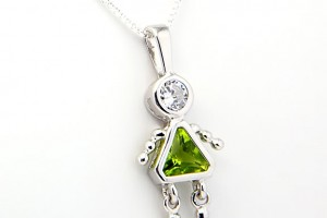 Jewelry , 7 Nice Birthstone Necklaces For Grandma : Grandma Birthstone Pendant