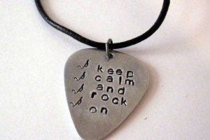 570x567px 7 Popular Personalized Guitar Pick Necklaces Picture in Jewelry