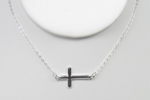Jewelry , 6 Best Sideways Cross Necklace Meaning : Handcrafted Artisan Jewelry