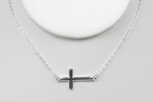 Jewelry , 6 Best Sideways Cross Necklace Meaning : Handcrafted Artisan Jewelry