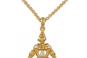 Jewelry , 8 Stunning Chopard Happy Diamonds Necklace : Happy Diamond Clown Necklace