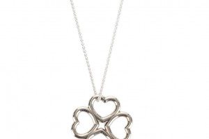 Jewelry , 8 Awesome Tiffany Clover Necklace : Heart Clover Necklace