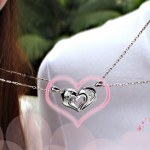 Heart Necklaces , 8 Fabulous Split Heart Necklaces For Couples In Jewelry Category