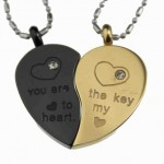 Heart Pendant , 8 Fabulous Split Heart Necklaces For Couples In Jewelry Category