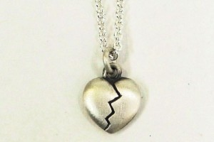 Jewelry , 7 Stunning Breakable Heart Necklace : Heart Pendant