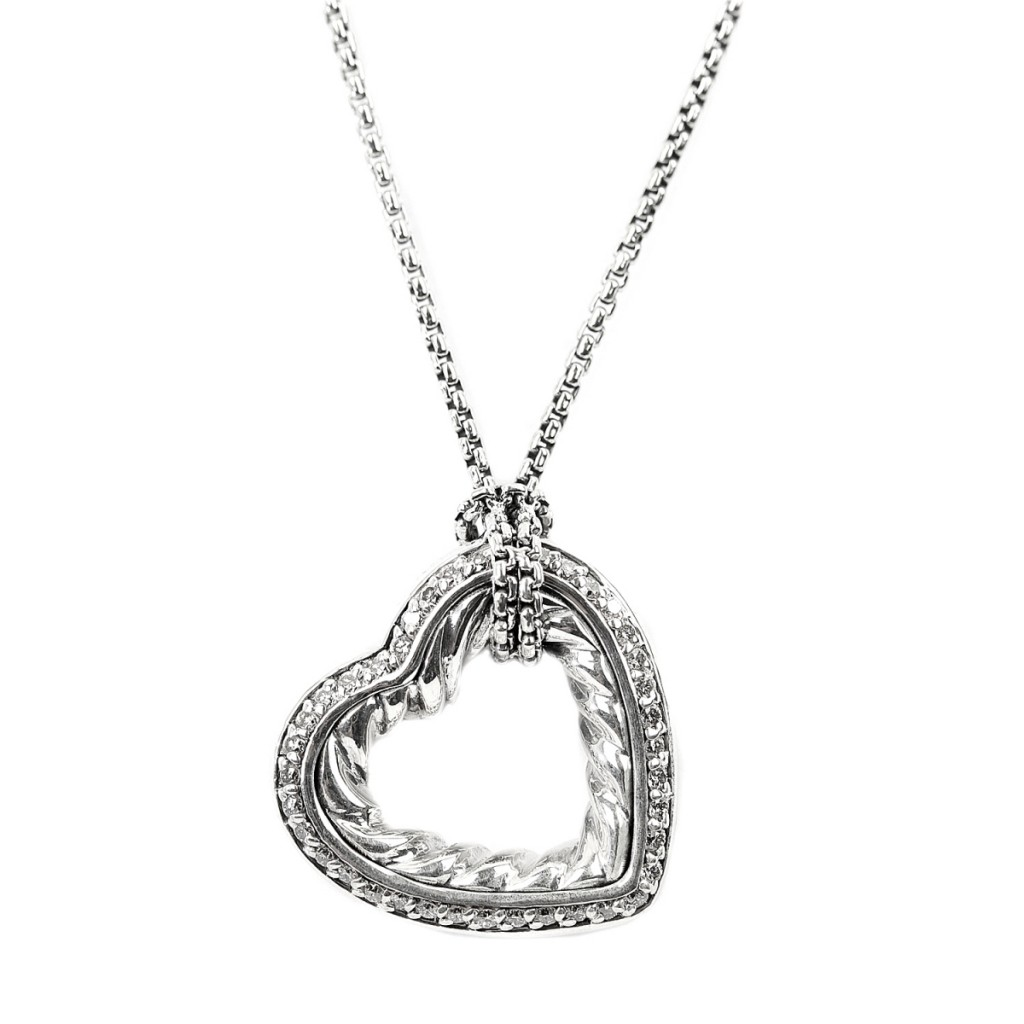 7 Gorgeous David Yurman Heart Necklace in Jewelry