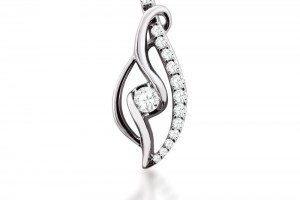 Jewelry , 8 Charming Sirena Diamond Necklace : Home Ladies Sirena Diamond Pendant