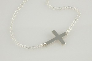 500x434px 8 Awesome Horizontal Cross Necklace Sterling Silver Picture in Jewelry