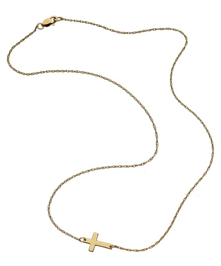 7 Gorgeous Horizontal Cross Necklaces in Jewelry