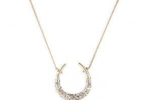 Jewelry , 6 Good Alexis Bittar Horseshoe Necklace : Horseshoe Necklace