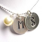 Initial Necklace , 8 Charming Initial Necklace For Moms In Jewelry Category