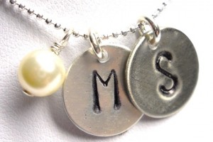 570x608px 8 Charming Initial Necklace For Moms Picture in Jewelry