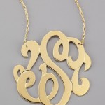 Initial Necklace in Gold , 8 Stunning Jennifer Zeuner Large Swirly Initial Necklace In Jewelry Category