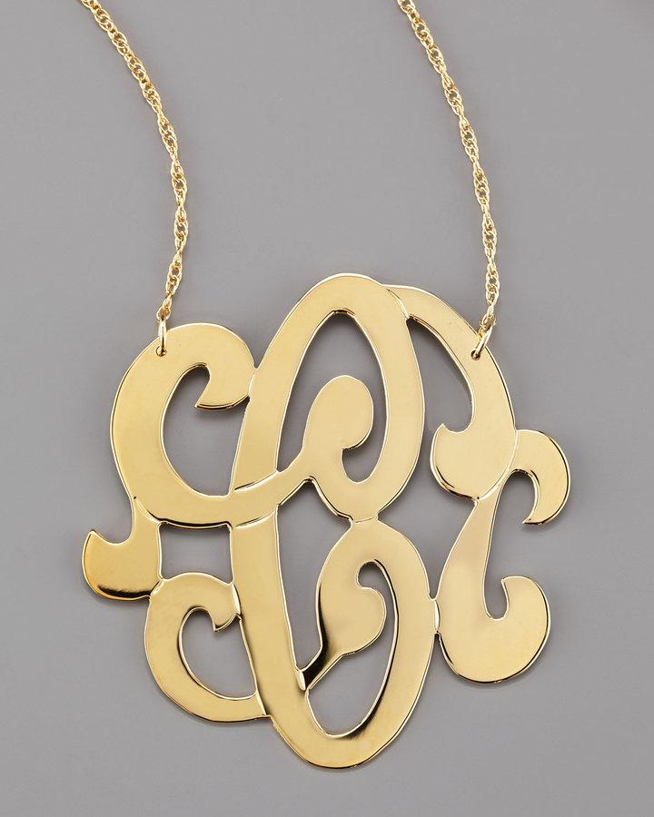 Jewelry , 7 Unique Initial Necklace Jennifer Zeuner : Initial Necklace