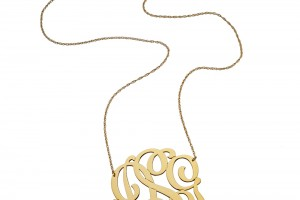 Jewelry , 7 Good Jennifer Zeuner Swirly Initial Necklace : Initial Pendant