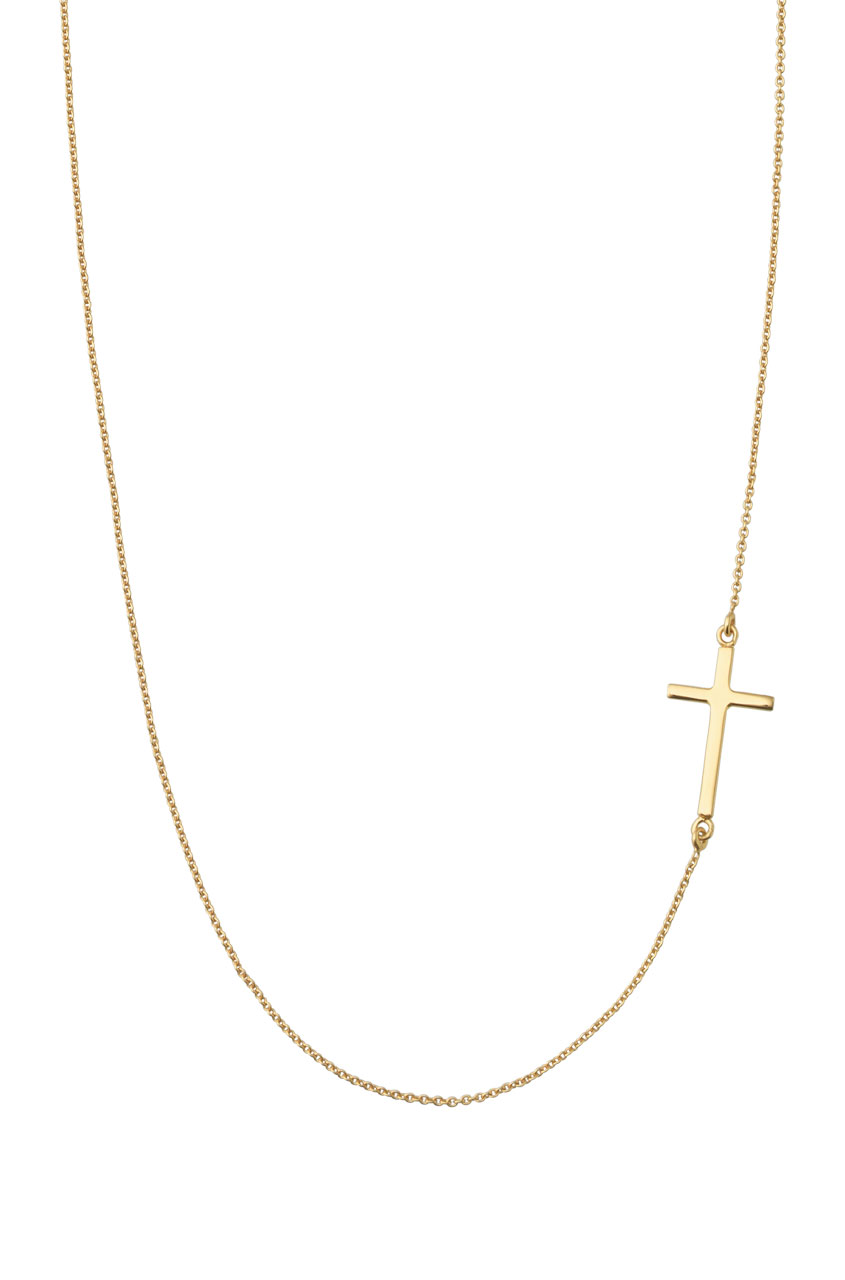7 Lovely Interlock Cross Necklace in Jewelry