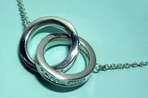 Jewelry , 6 Stunning Tiffany Interlocking Circles Necklace : Interlocking Circles Necklace Pendant