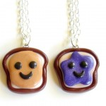 Jelly Best Friend Necklaces , 8 Outstanding Peanut Butter And Jelly Necklaces In Jewelry Category